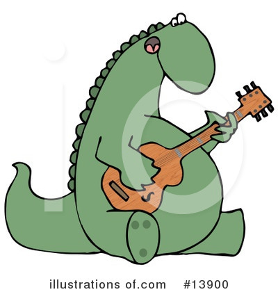 Royalty-Free (RF) Dinosaur Clipart Illustration by djart - Stock Sample #13900