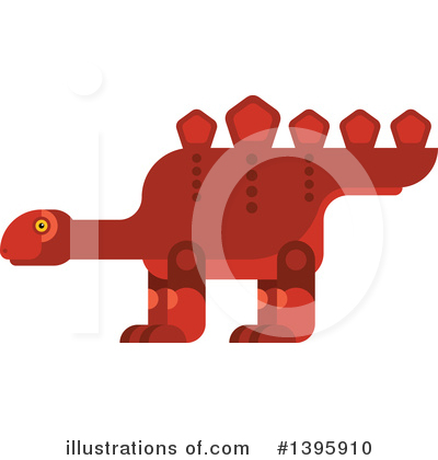 Dinosaur Clipart #1395910 by Vector Tradition SM