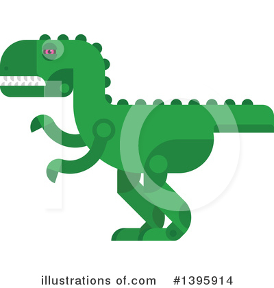 Dinosaur Clipart #1395914 by Vector Tradition SM
