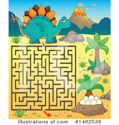 Maze Clipart #1402539 by visekart