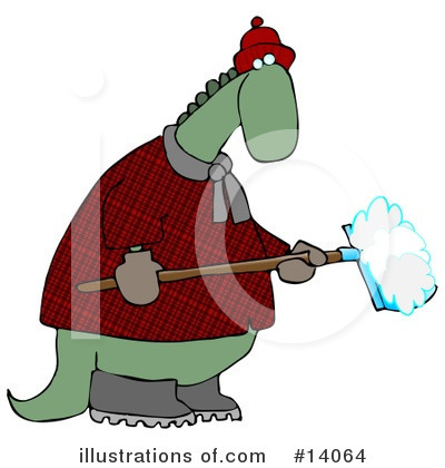 Royalty-Free (RF) Dinosaur Clipart Illustration by Dennis Cox - Stock Sample #14064