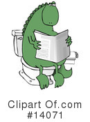 Royalty-Free (RF) Dinosaur Clipart Illustration #14071