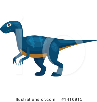 Dinosaur Clipart #1416915 by Vector Tradition SM