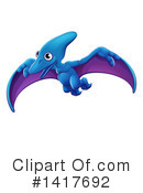 Dinosaur Clipart #1417692 by AtStockIllustration