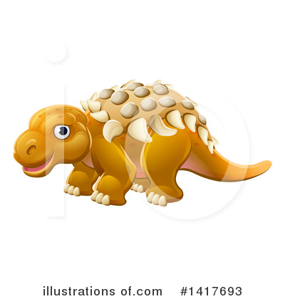 Dinosaur Clipart #1417693 by AtStockIllustration