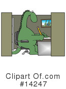 Royalty-Free (RF) dinosaur Clipart Illustration #14247