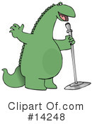 Royalty-Free (RF) Dinosaur Clipart Illustration #14248