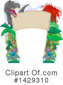 Dinosaur Clipart #1429310 by BNP Design Studio