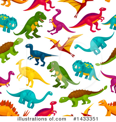 Dinosaur Clipart #1433351 by Vector Tradition SM