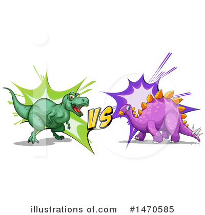 Stegosaurus Clipart #1470585 by Graphics RF