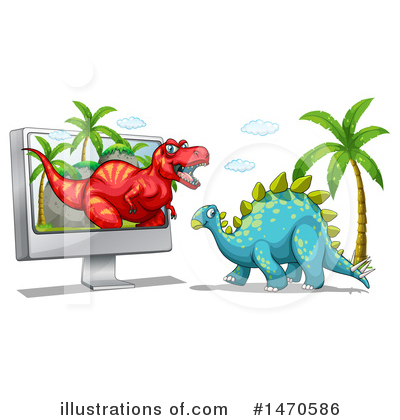 Stegosaurus Clipart #1470586 by Graphics RF
