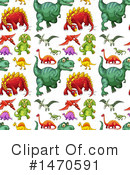 Dinosaur Clipart #1470591 by Graphics RF