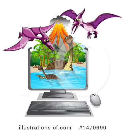 Volcano Clipart #1470690 by Graphics RF