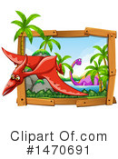 Dinosaur Clipart #1470691 by Graphics RF