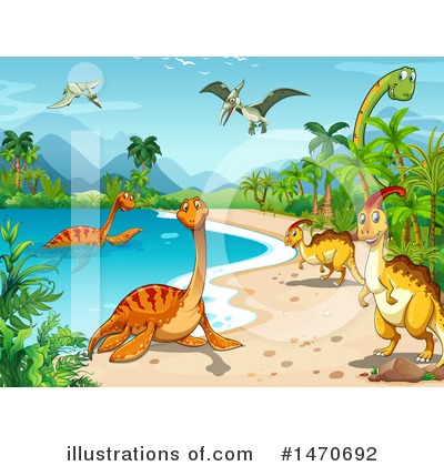 Brontosaurus Clipart #1470692 by Graphics RF