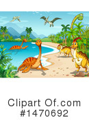 Dinosaur Clipart #1470692 by Graphics RF