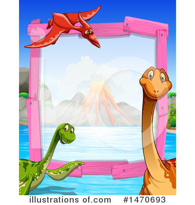 Brontosaurus Clipart #1470693 by Graphics RF