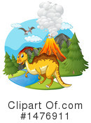Dinosaur Clipart #1476911 by Graphics RF