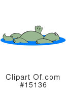Royalty-Free (RF) Dinosaur Clipart Illustration #15136