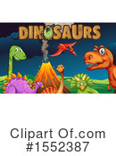 Dinosaur Clipart #1552387 by Graphics RF