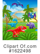 Dinosaur Clipart #1622498 by AtStockIllustration