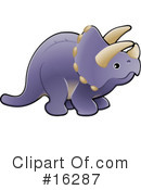 Royalty-Free (RF) Dinosaur Clipart Illustration #16287