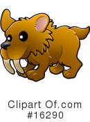 Royalty-Free (RF) Dinosaur Clipart Illustration #16290