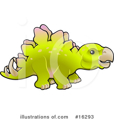 Dinosaur Clipart #16293 by AtStockIllustration