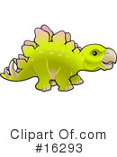 Royalty-Free (RF) Dinosaur Clipart Illustration #16293