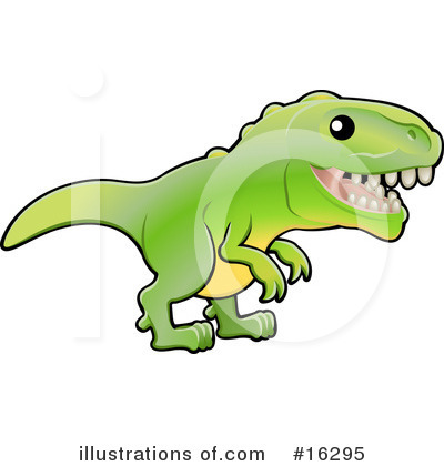 Dinosaur Clipart #16295 by AtStockIllustration