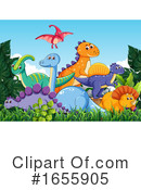 Dinosaur Clipart #1655905 by Graphics RF