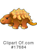 Dinosaur Clipart #17684 by AtStockIllustration