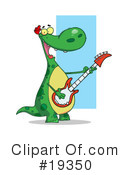 Royalty-Free (RF) Dinosaur Clipart Illustration #19350