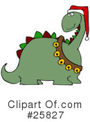 Royalty-Free (RF) Dinosaur Clipart Illustration #25827