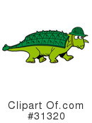 Dinosaur Clipart #31320 by LaffToon