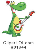 Royalty-Free (RF) Dinosaur Clipart Illustration #81944