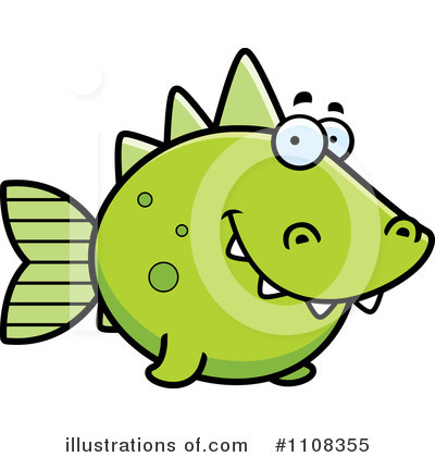 Fish Clipart #1108355 by Cory Thoman
