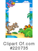 Dinosaurs Clipart #220735 by visekart