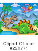Dinosaurs Clipart #220771 by visekart