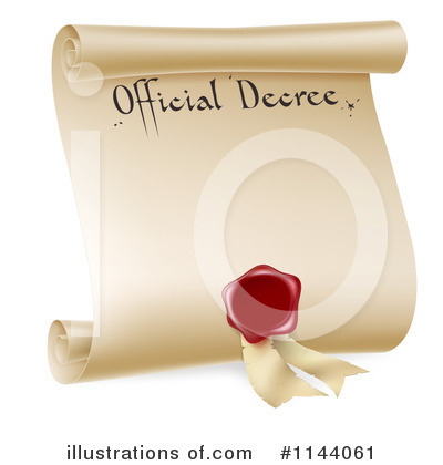 Royalty-Free (RF) Diploma Clipart Illustration by AtStockIllustration - Stock Sample #1144061