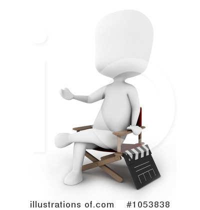 Clapperboard Clipart #1053838 by BNP Design Studio