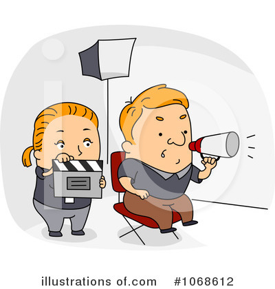 Clapper Clipart #1068612 by BNP Design Studio
