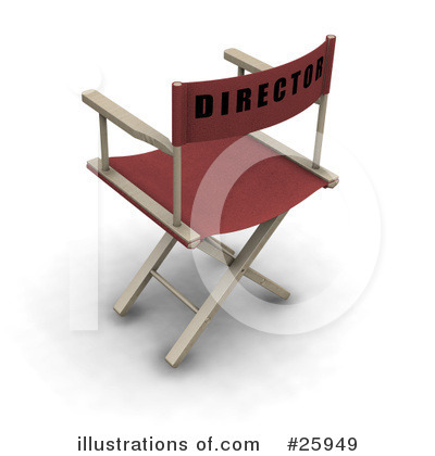 Directors Chair Clipart #25949 by KJ Pargeter