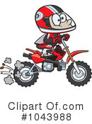 Dirt Bike Clipart #1043988