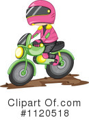 Royalty-Free (RF) Dirt Bike Clipart Illustration #1120518