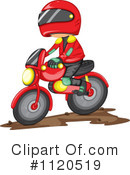 Royalty-Free (RF) Dirt Bike Clipart Illustration #1120519