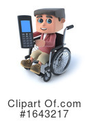 Disabled Clipart #1643217 by Steve Young