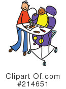 Royalty-Free (RF) Disabled Clipart Illustration #214651