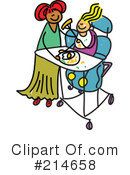 Royalty-Free (RF) Disabled Clipart Illustration #214658
