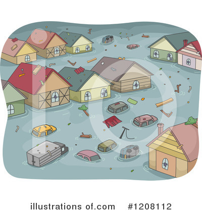 Village Clipart #1208112 by BNP Design Studio